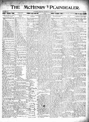 McHenry Plaindealer (McHenry, IL), 6 Apr 1916