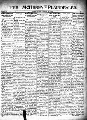 McHenry Plaindealer (McHenry, IL), 4 May 1916