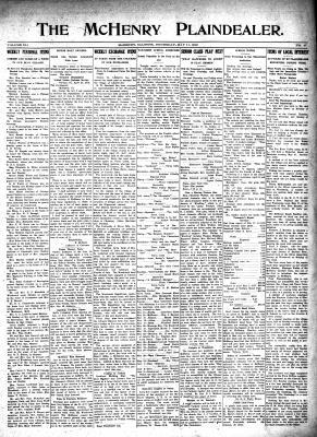 McHenry Plaindealer (McHenry, IL), 11 May 1916