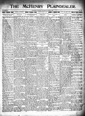 McHenry Plaindealer (McHenry, IL), 15 Jun 1916