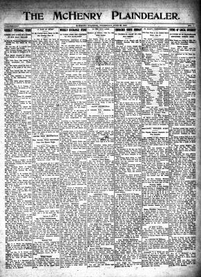 McHenry Plaindealer (McHenry, IL), 22 Jun 1916