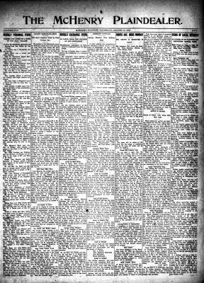 McHenry Plaindealer (McHenry, IL), 10 Aug 1916