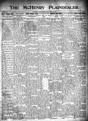 McHenry Plaindealer (McHenry, IL), 24 Aug 1916