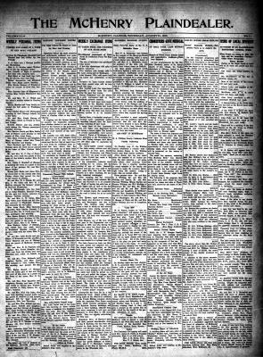 McHenry Plaindealer (McHenry, IL), 31 Aug 1916