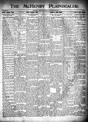 McHenry Plaindealer (McHenry, IL), 28 Sep 1916