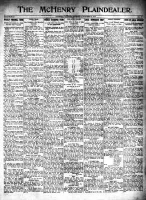 McHenry Plaindealer (McHenry, IL), 12 Oct 1916