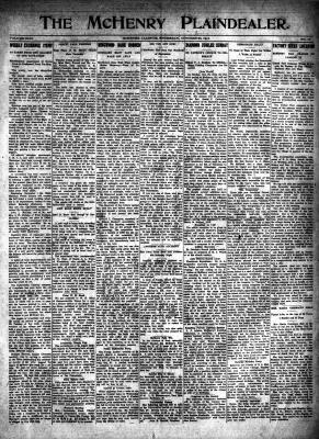 McHenry Plaindealer (McHenry, IL), 26 Oct 1916