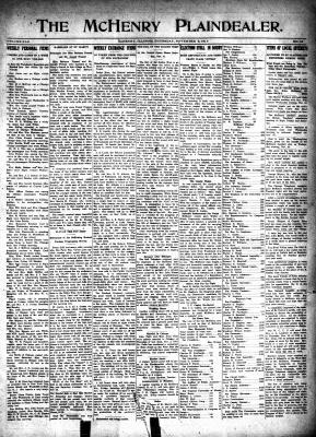 McHenry Plaindealer (McHenry, IL), 9 Nov 1916