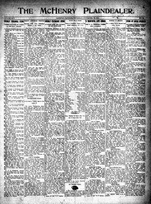 McHenry Plaindealer (McHenry, IL), 16 Nov 1916
