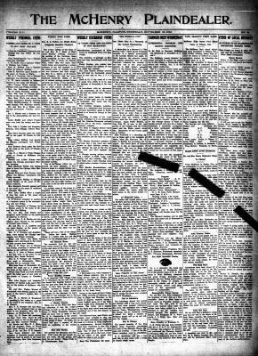 McHenry Plaindealer (McHenry, IL), 30 Nov 1916