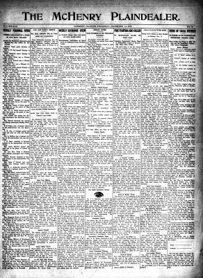 McHenry Plaindealer (McHenry, IL), 14 Dec 1916