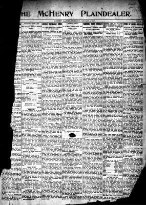 McHenry Plaindealer (McHenry, IL), 4 Jan 1917