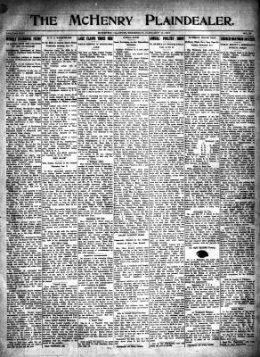 McHenry Plaindealer (McHenry, IL), 11 Jan 1917