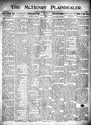 McHenry Plaindealer (McHenry, IL), 25 Jan 1917