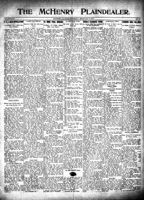McHenry Plaindealer (McHenry, IL), 8 Feb 1917