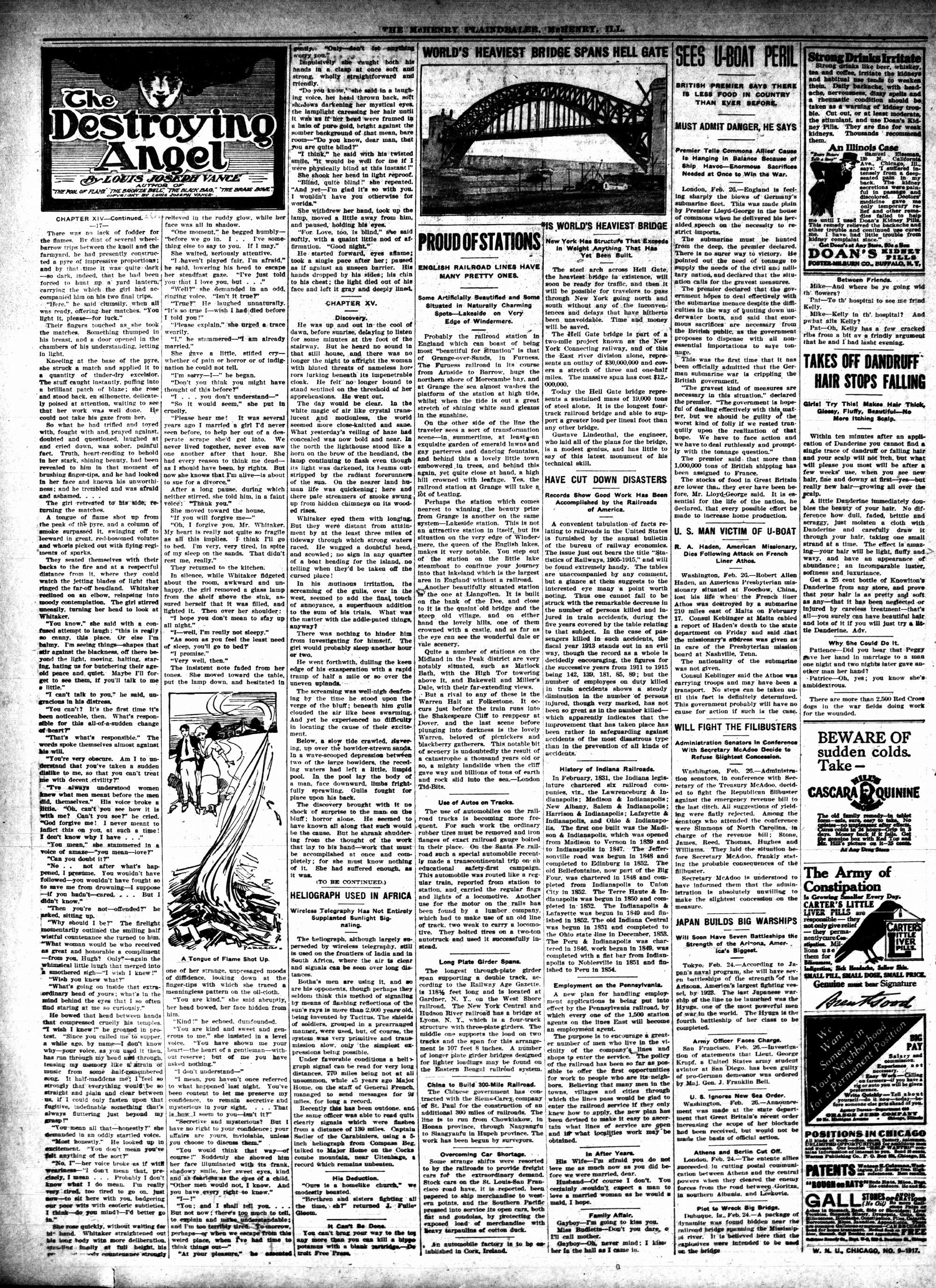 McHenry Plaindealer (McHenry, IL), 1 Mar 1917