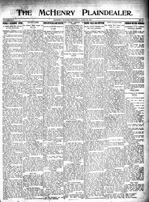 McHenry Plaindealer (McHenry, IL), 26 Apr 1917