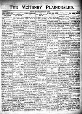 McHenry Plaindealer (McHenry, IL), 3 May 1917