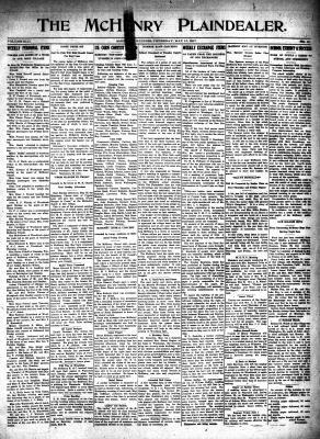 McHenry Plaindealer (McHenry, IL), 17 May 1917