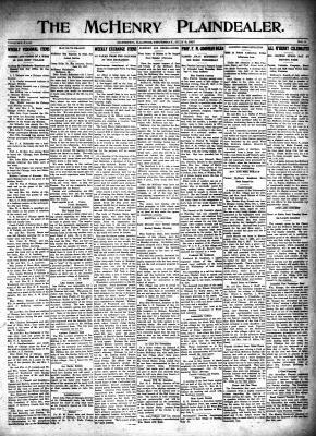 McHenry Plaindealer (McHenry, IL), 5 Jul 1917