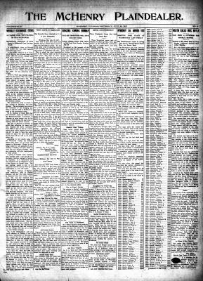 McHenry Plaindealer (McHenry, IL), 26 Jul 1917