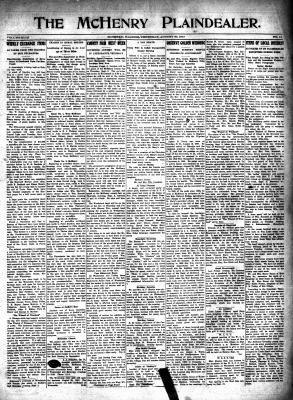 McHenry Plaindealer (McHenry, IL), 30 Aug 1917