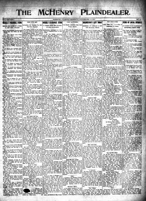 McHenry Plaindealer (McHenry, IL), 13 Sep 1917