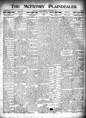 McHenry Plaindealer (McHenry, IL), 1 Nov 1917