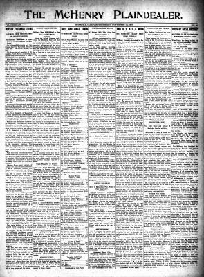 McHenry Plaindealer (McHenry, IL), 15 Nov 1917