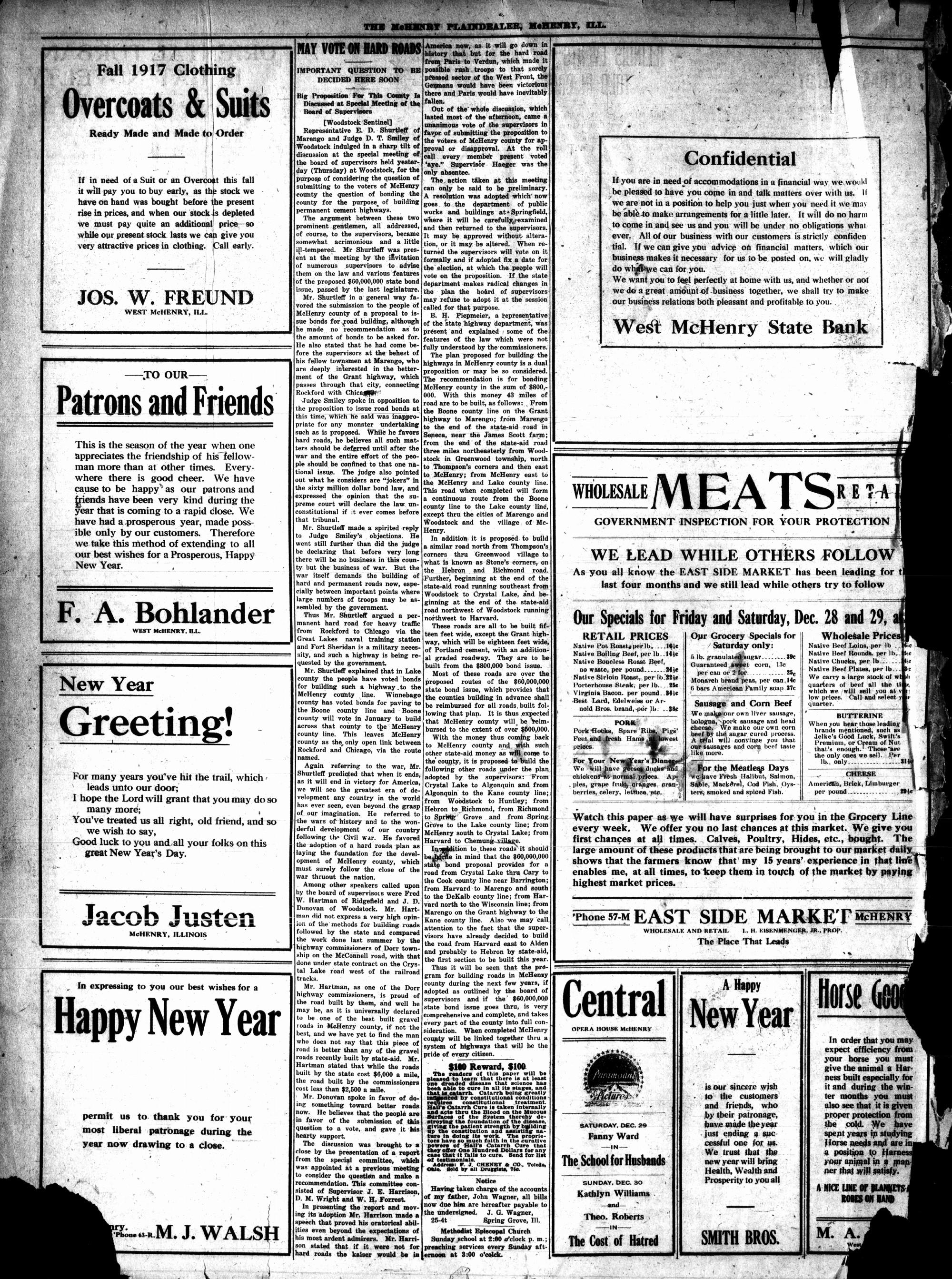 McHenry Plaindealer (McHenry, IL), 27 Dec 1917