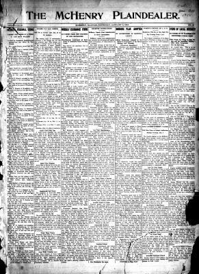 McHenry Plaindealer (McHenry, IL), 3 Jan 1918