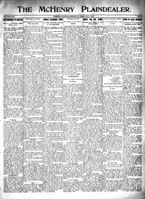 McHenry Plaindealer (McHenry, IL), 7 Feb 1918