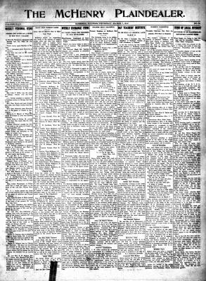 McHenry Plaindealer (McHenry, IL), 7 Mar 1918
