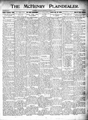 McHenry Plaindealer (McHenry, IL), 14 Mar 1918