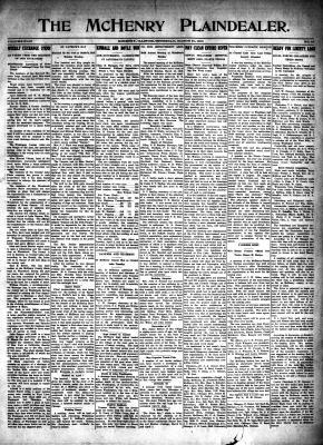 McHenry Plaindealer (McHenry, IL), 21 Mar 1918