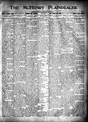 McHenry Plaindealer (McHenry, IL), 4 Apr 1918