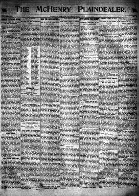 McHenry Plaindealer (McHenry, IL), 2 May 1918