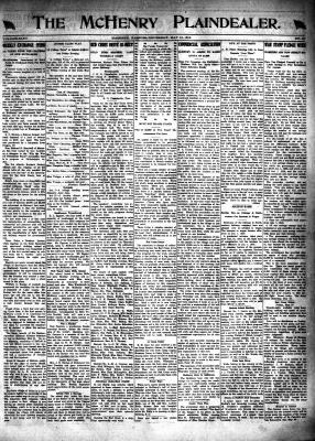 McHenry Plaindealer (McHenry, IL), 16 May 1918