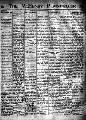 McHenry Plaindealer (McHenry, IL), 30 May 1918