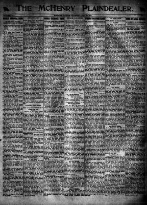 McHenry Plaindealer (McHenry, IL), 25 Jul 1918