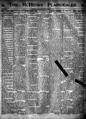 McHenry Plaindealer (McHenry, IL), 1 Aug 1918