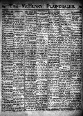 McHenry Plaindealer (McHenry, IL), 8 Aug 1918