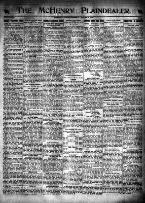 McHenry Plaindealer (McHenry, IL), 22 Aug 1918