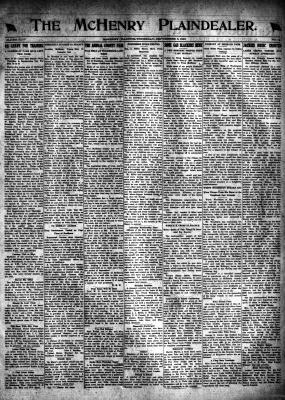 McHenry Plaindealer (McHenry, IL), 5 Sep 1918