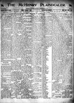 McHenry Plaindealer (McHenry, IL), 19 Sep 1918