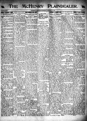 McHenry Plaindealer (McHenry, IL), 10 Oct 1918