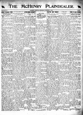 McHenry Plaindealer (McHenry, IL), 31 Oct 1918