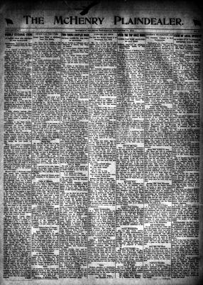 McHenry Plaindealer (McHenry, IL), 21 Nov 1918