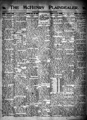 McHenry Plaindealer (McHenry, IL), 19 Dec 1918