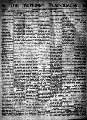 McHenry Plaindealer (McHenry, IL), 26 Dec 1918